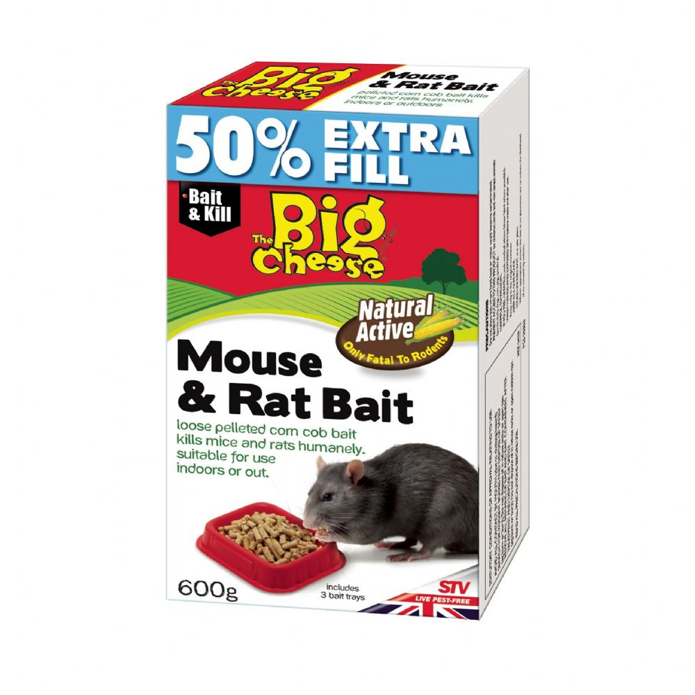 STV Natural Active Mouse Killer 600g